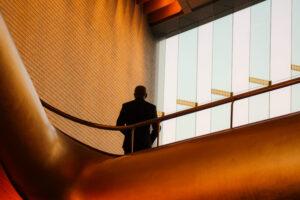 Cadre sup dans escalier